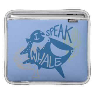 Dory & Destiny | I Speak Whale Sleeve For iPads
