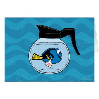 Dory el | un pescado fuera del agua tarjeta de felicitación