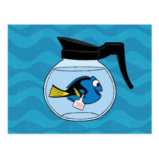 Dory el | un pescado fuera del agua tarjetas postales