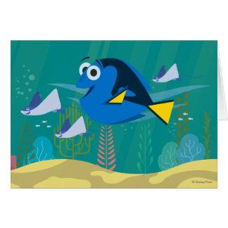 Dory el | un viaje debajo del mar tarjeta de felicitación