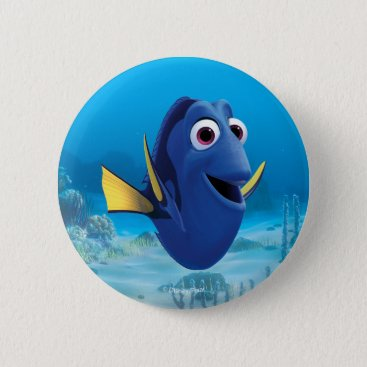 Disney Themed Dory | Finding Dory Pinback Button