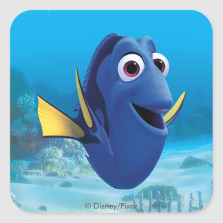 Dory | Finding Dory Square Sticker