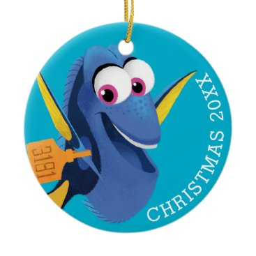 Disney Themed Dory | Finding Who Ceramic Ornament
