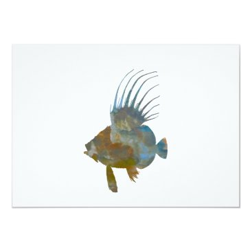 Beach Themed Dory Fish Card