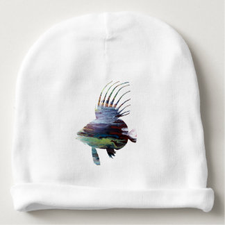 Dory fish - Colorful fish art Baby Beanie