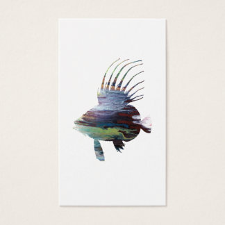 Dory fish - Colorful fish art Business Card