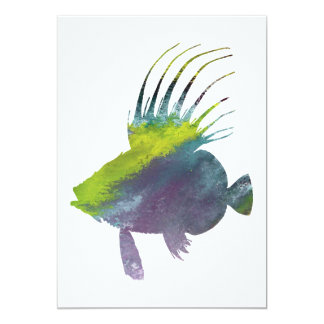 Dory fish - Colorful fish art Card