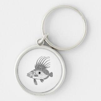 Dory Fish Keychain