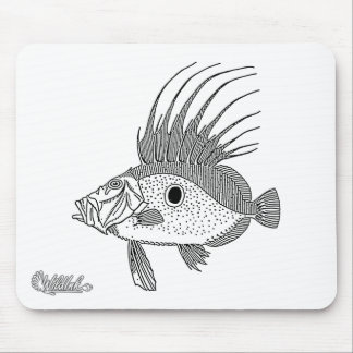 Dory Fish Mouse Pad