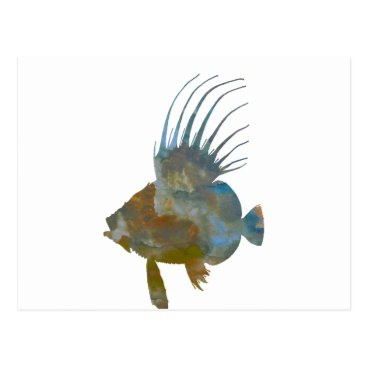 Beach Themed Dory Fish Postcard