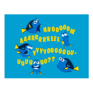 Dory   How Are You? Postcard
