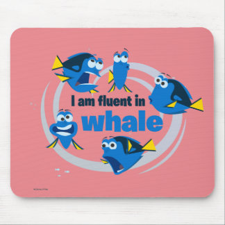 Dory | I am Fluent in Whale Mouse Pad