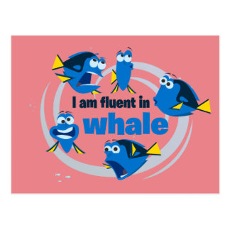 Dory | I am Fluent in Whale Postcard