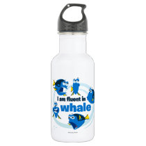 Dory | I am Fluent in Whale Water Bottle