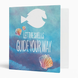 Dory | Let the Shells Guide Your Way Binder