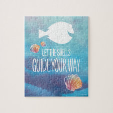 Dory   Let the Shells Guide Your Way Jigsaw Puzzle