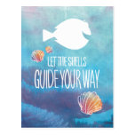 Dory | Let the Shells Guide Your Way Postcard