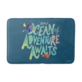 Dory & Nemo | An Ocean of Adventure Awaits Bathroom Mat