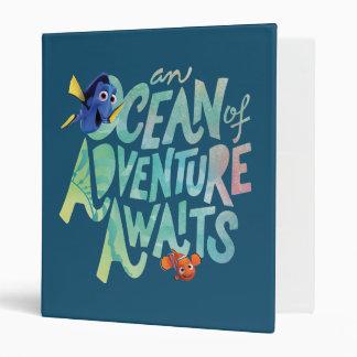 Dory & Nemo   An Ocean of Adventure Awaits Binder