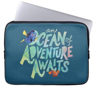 Dory & Nemo | An Ocean of Adventure Awaits Computer Sleeve