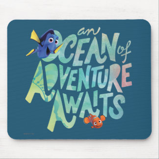 Dory & Nemo | An Ocean of Adventure Awaits Mouse Pad