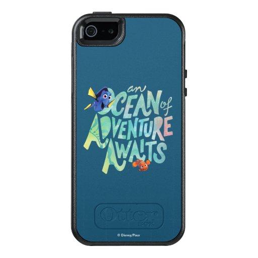 ... u0026 Nemo : An Ocean of Adventure Awaits OtterBox iPhone 5/5s/SE Case