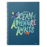Dory & Nemo   An Ocean of Adventure Awaits Spiral Notebook
