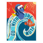 Dory & Nemo | Go with the Flow Postcard