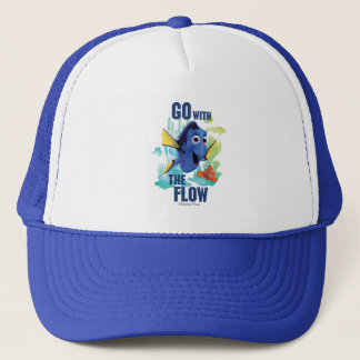 Dory & Nemo | Go with the Flow Watercolor Graphic Trucker Hat