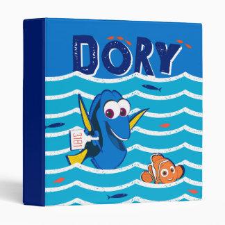 Dory & Nemo Love to Swim 3 Ring Binder