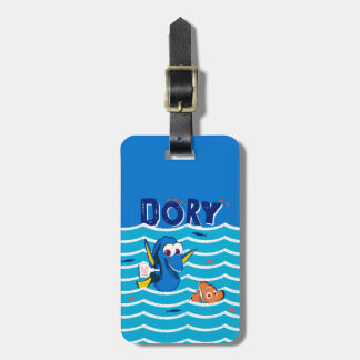 Dory & Nemo Love to Swim Luggage Tag