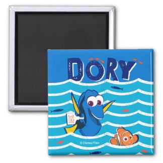 Dory & Nemo Love to Swim Magnet