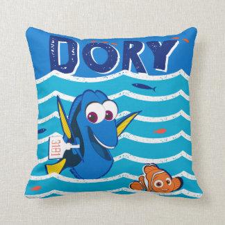 Dory & Nemo Love to Swim Throw Pillow