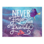 Dory & Nemo | Never Forget Your Friends Postcard