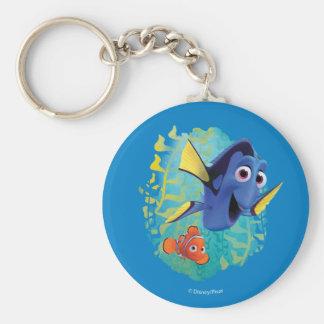 Dory & Nemo | Swim With Friends Keychain
