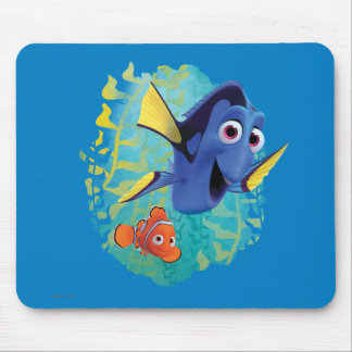 Dory & Nemo | Swim With Friends Mouse Pad