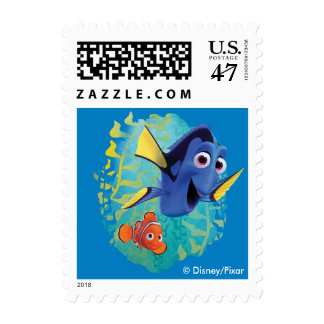 Dory & Nemo | Swim With Friends Postage
