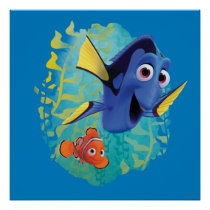 Dory & Nemo | Swim With Friends Poster