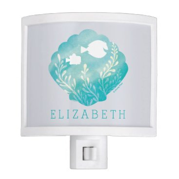 Disney Themed Dory & Nemo | Watercolor Shell Graphic - Add Your Night Light