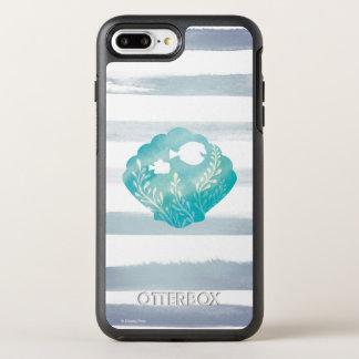 Dory & Nemo | Watercolor Shell Graphic OtterBox Symmetry iPhone 7 Plus Case