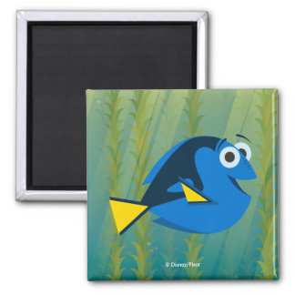 Dory | We Swim! 2 Inch Square Magnet