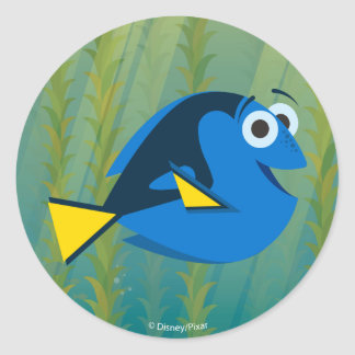 Dory | We Swim! Classic Round Sticker