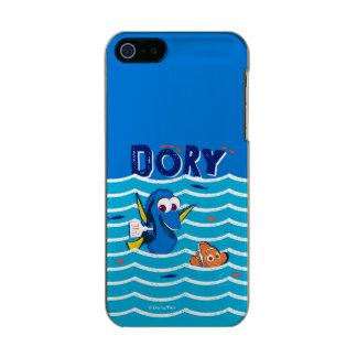 Dory y amor de Nemo a nadar Carcasa De Iphone 5 Incipio Feather Shine