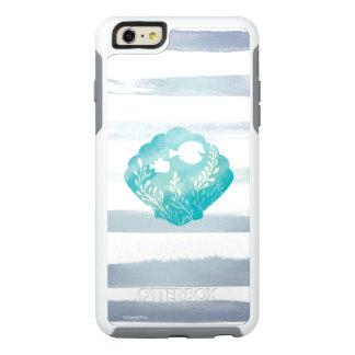 Dory y gráfico de Shell de la acuarela de Nemo el Funda Otterbox Para iPhone 6/6s Plus