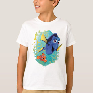Dory y nadada de Nemo el | con los amigos Playera
