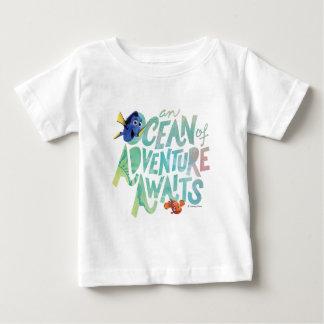 Dory y Nemo el | que un océano de la aventura Playera De Bebé