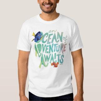 Dory y Nemo el | que un océano de la aventura Remera