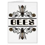 dos abejas con el trébol trans1 felicitaciones