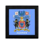 DOS Acores de Caixa del joyero de las islas de Caja De Regalo
