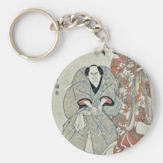 Dos actores famosos por Utagawa, Toyokuni Llaveros Personalizados